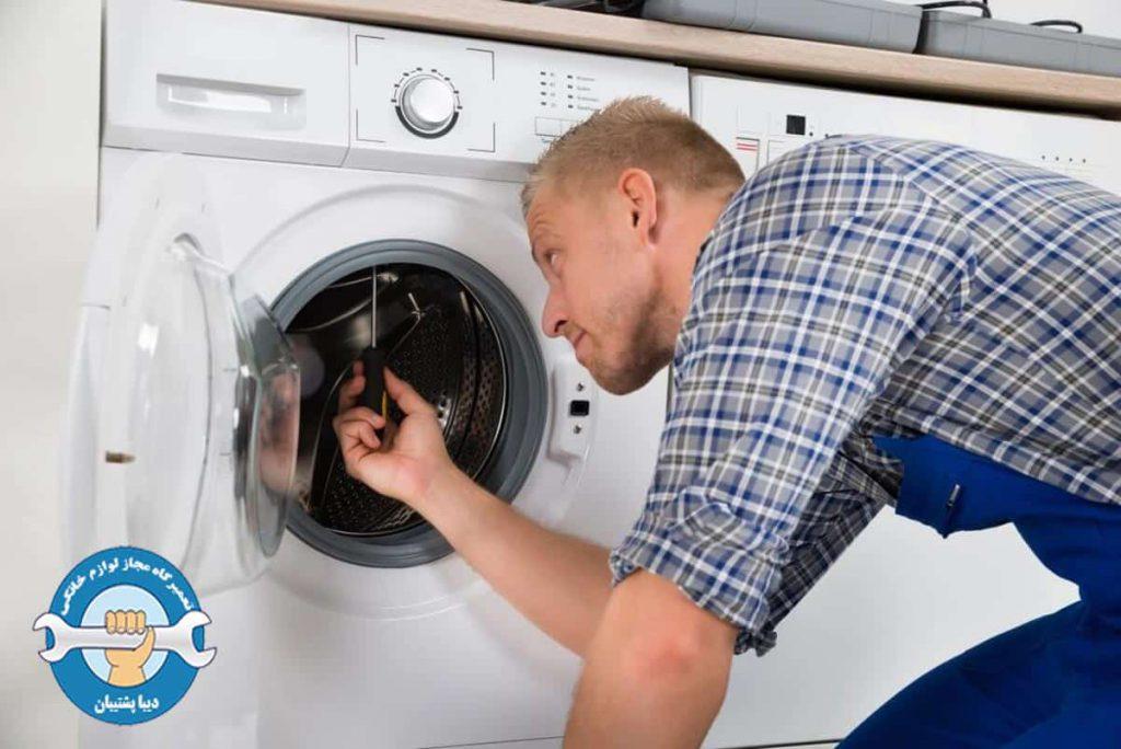 علت وارد نشدن آب به داخل لباسشویی سامسونگ
