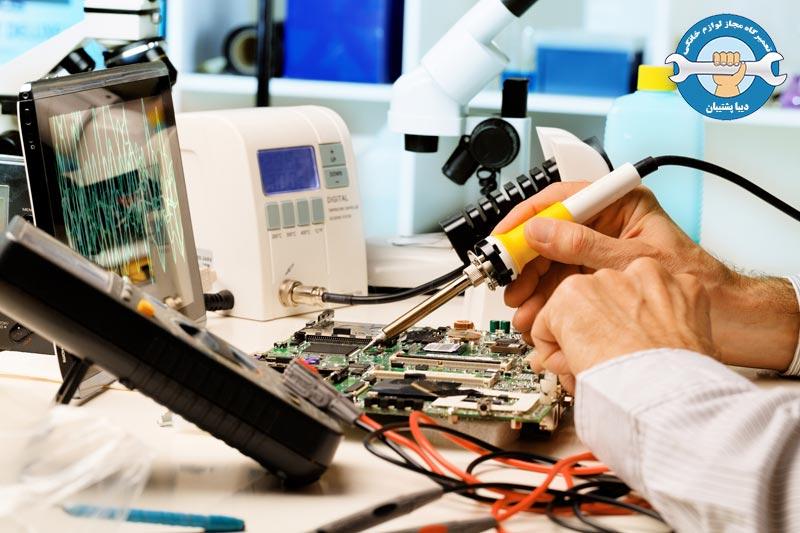 ارور ها و هزینه تعمیرات تلویزیون LED و LCD سامسونگ