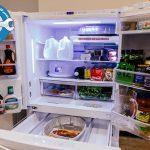 علت یخ زدن مواد غذایی داخل یخچال سامسونگ