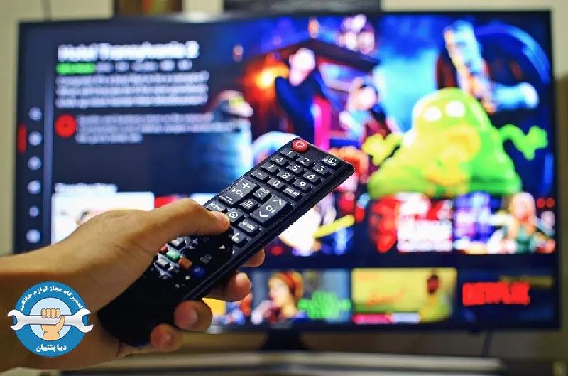 جلوگیری از پرش تصویر در تلویزیون ال ای دی سامسونگ