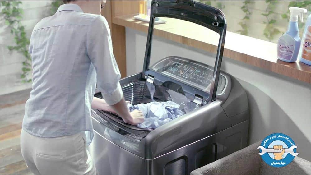 علت آبریزی یا نشت آب از ماشین لباسشویی سامسونگ